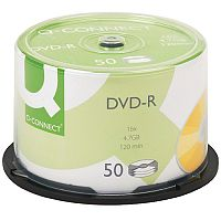 Q-Connect DVD-R Discs Spindle Pack of 50