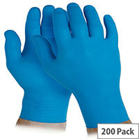 Disposable Powder Free Nitrile Gloves Small Blue Box of 200 KleenGuard G10 90096