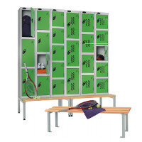 Leisure Centre Changing Room Lockers