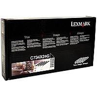 Lexmark C734X24G Photoconductor Unit Multipack - Black, Cyan, Magenta and Yellow (4 Units)