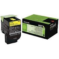 Lexmark Yellow Rp Toner Cartridge 80C20Y0