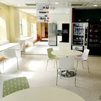 Marriott Hotel Call Centre in Cork Canteen Fitout by HuntOffice Interiors