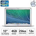 "Apple MacBook Air 13"" Core i5 4GB 256GB Flash"