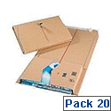 Mailing Box 330x250x80mm Pack of 20 11489