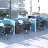 Marathon Desk Screens & Office Partitions