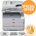 OKI MC342DN A4 colour 4-in-1 Printer