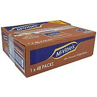 McVities Chocolate Digestive Biscuits Individually Wrapped in Two Pack of 48 A07384