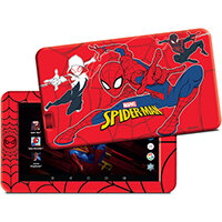 eStar 7in Spider Man Themed Tablet 8GB Storage Red