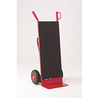 Multi-Purpose 3-in-1 Hand Truck with Anti-Slip Back Pneumatic Wheels 250kg Capacity 316375