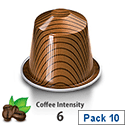 Nespresso� Caramelito � Sleeve of 10 Coffee Capsules - Coffee Intensity 6