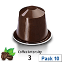 Nespresso� Cosi � Sleeve of 10 Coffee Capsules - Coffee Intensity 3