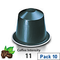 Nespresso� Dharkan � Sleeve of 10 Coffee Capsules - Coffee Intensity 11