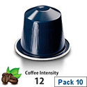 Nespresso� Kazaar � Sleeve of 10 Coffee Capsules - Coffee Intensity 12