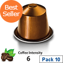 Nespresso� Livanto � Sleeve of 10 Coffee Capsules - Coffee Intensity 6