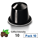 Nespresso� Ristretto � Sleeve of 10 Coffee Capsules - Coffee Intensity 10