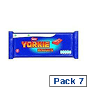 Nestle Yorkie Chocolate Biscuit Bar (7 Pack) 12130127