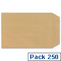 New Guardian C5 Press Seal Envelopes Manilla Pocket Pack 250