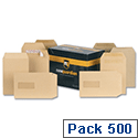 New Guardian C5 Press Seal Envelopes Manilla Pocket 80gsm Pack 500