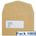 c6 envelopes pack 1000