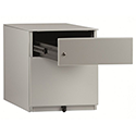 Bisley Note 2 Drawer Grey Desk Pedestal