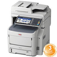 OKI MC780dfnfax Colour Multifunction Laser Printer A4 Duplex Network Fax