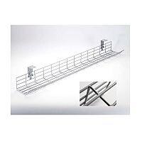 1.4m Poly Coated Desk Cable Management Basket PCCB14