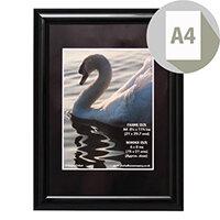Photo Album Company Certificate Frame A4 Shiny Black PILA4SHIN-BLK
