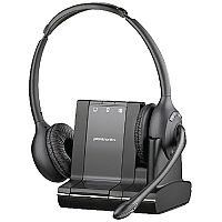 Plantronics Savi W720/A 3 in 1 UC Binaural Wireless DECT Headset System