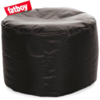The Point Bean Bag Pouf Stool 35x50cm Black Suitable for Indoor Use - Fatboy The Original Bean Bag Range