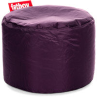 The Point Bean Bag Pouf Stool 35x50cm Dark Purple Suitable for Indoor Use - Fatboy The Original Bean Bag Range