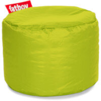 The Point Bean Bag Pouf Stool 35x50cm Lime Suitable for Indoor Use - Fatboy The Original Bean Bag Range