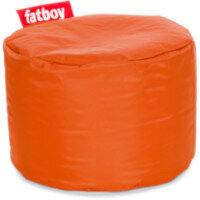 The Point Bean Bag Pouf Stool 35x50cm Orange Suitable for Indoor Use - Fatboy The Original Bean Bag Range