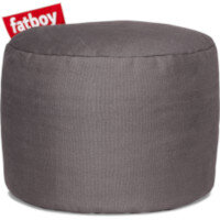 The Point Stonewashed Bean Bag Pouf Stool 35x50 Grey Suitable for Indoor Use - Fatboy The Original Bean Bag Pouf Stool Range