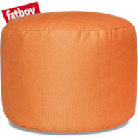 The Point Stonewashed Bean Bag Pouf Stool 35x50 Orange Suitable for Indoor Use - Fatboy The Original Bean Bag Pouf Stool Range