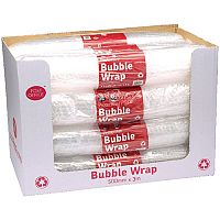 Post Office Postpak Clear Bubble Wrap 500mm x 3m (Pack of 12)