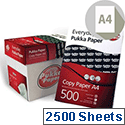 Pukka A4 80gsm White Copier Paper Box of 2500 Sheets