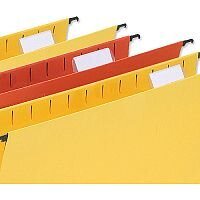 Card Inserts for 5 Star Wrap-Over Suspension File Tabs White Pack 50 Ref 100331413