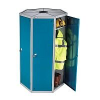 Probe Single Door 7 Unit Locker Pod - Comes in a Unit of 7 x 1 Door Lockers Which All Fit Together in a Circle