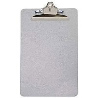 Q-Connect Clipboard Foolscap/A4 Steel Grey