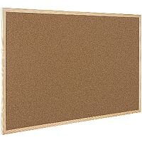 Q-Connect Cork Board Wooden Frame 900 x 1200mm KF03568
