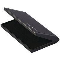 Q-Connect Large Stamp Pad Metal Case Black KF15440