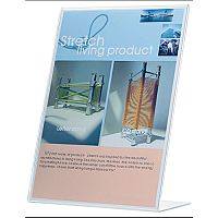 Q-Connect Slanted Sign Holder L-Shape A5 KF04178
