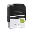 Q-Connect Voucher for Self-Inking Custom Stamp 57x20mm 6 Lines