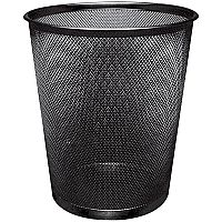 Q-Connect 18 Litre Waste Basket Mesh Black KF00871