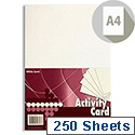 Premier A4 160g White Activity Card (Pack of 1250)