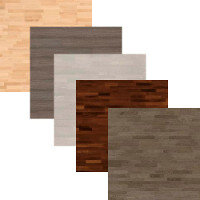 Salsa 14mm 3 Strip Parquet Wooden Flooring