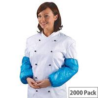 Shield Polythene Oversleeves Pack of 2000 Blue DA01