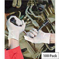 Disposable Powder-Free Latex Gloves Small Box of 100 Shield GD05