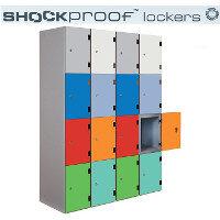 Shock Proof Lockers