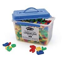 Show-Me Tub Of 286 Magnetic Lowercase Letters  Ml